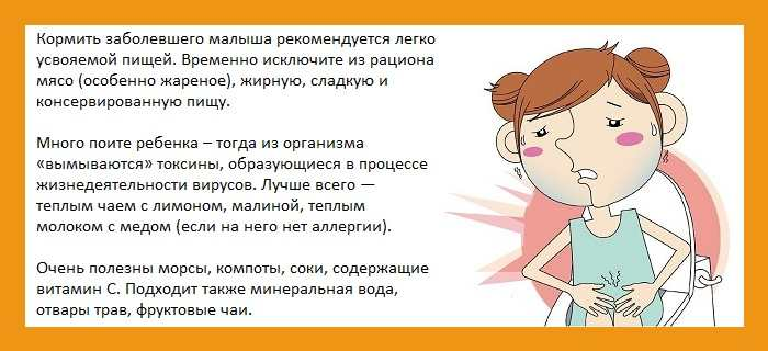 Как лечить ребенка при температуре 38 и понос