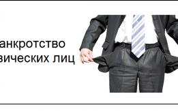 Банкротство физических лиц - граждан РФ