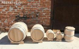 Дубовые бочки от 3-х литров до 500