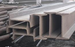 Двутавровые металлические балки