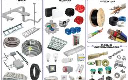 Оптовая продажа светодиодных систем, кабельной и электро