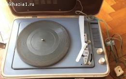 Проигрыватель пластинок / винила «Юность» СССР