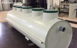 Септик Автономная канализация 0,8 горизонтальная